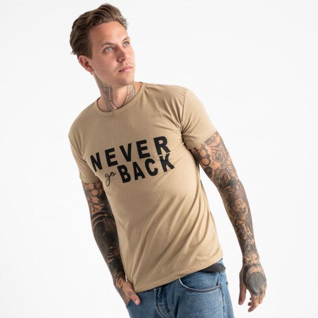 2609-11 футболка мужская с принтом (4 ед. размеры: M.L.XL.2XL) Футболка: артикул 1120946