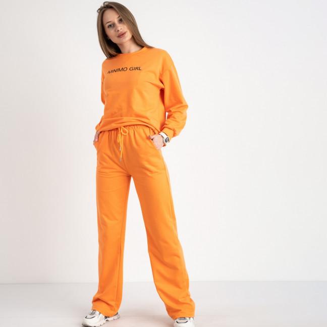 7807-2 M&C спортивный костюм женский оранжевый (3 ед. размеры: универсал S-L ) M&C: артикул 1122650
