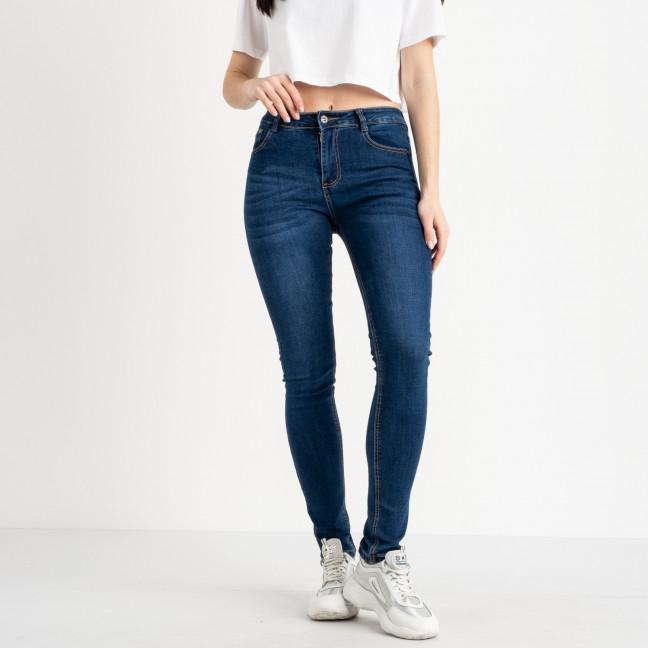 0802 Fashion jeans джинсы полубатальные женские синие стрейчевые (6 ед. размеры: 28.29.30.31.32.33) Fashion jeans: артикул 1118839