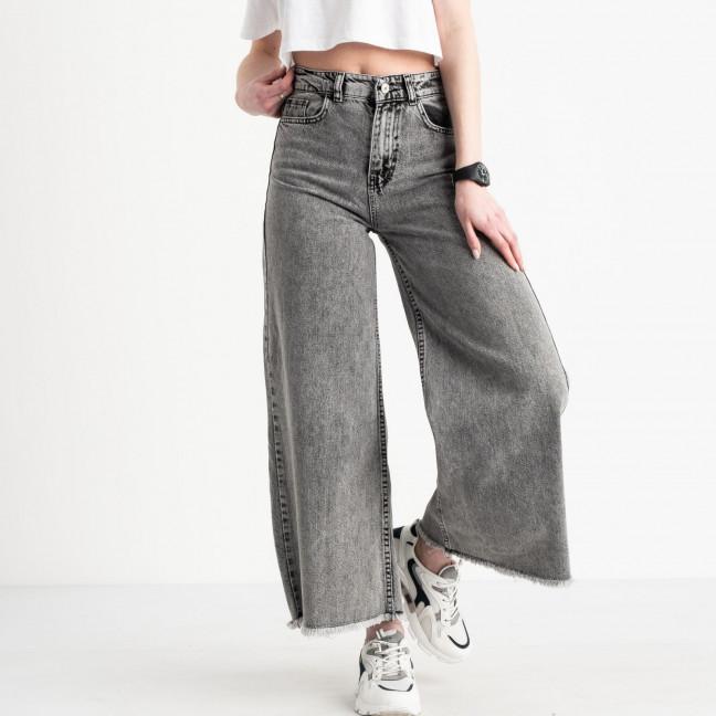 2110 Plus Denim джинсы-клеш женские серые котоновые (8 ед. размеры: 25.26.26.28.28.30.30.32) Plus Denim: артикул 1119842