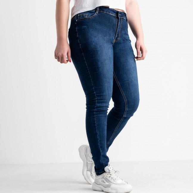 0805 Fashion jeans джинсы батальные женские синие стрейчевые (6 ед. размеры: 30.31.32.33.34.36) Fashion jeans: артикул 1118257
