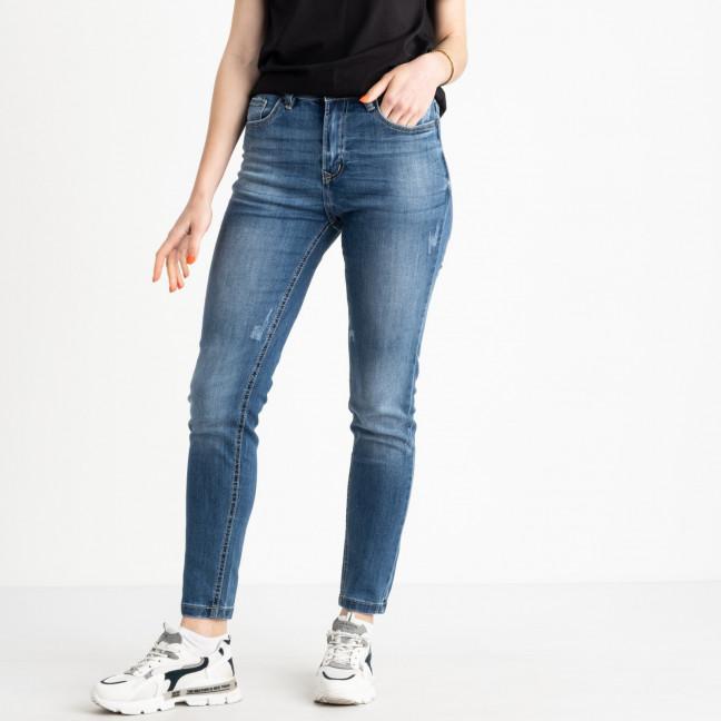 0503-6 A Relucky джинсы полубатальные женские синие стрейчевые (6 ед. размеры: 28.29.30.31.32.33) Relucky: артикул 1120686