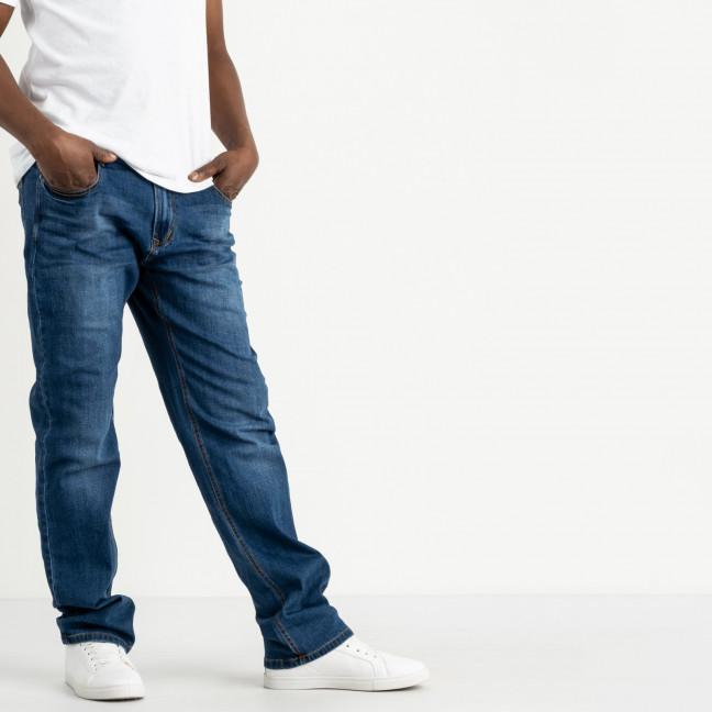 5003 Dsouaviet джинсы полубатальные мужские синие стрейчевые (7 ед. размеры: 32.33.34.36.38.40.42) Dsouaviet: артикул 1120344