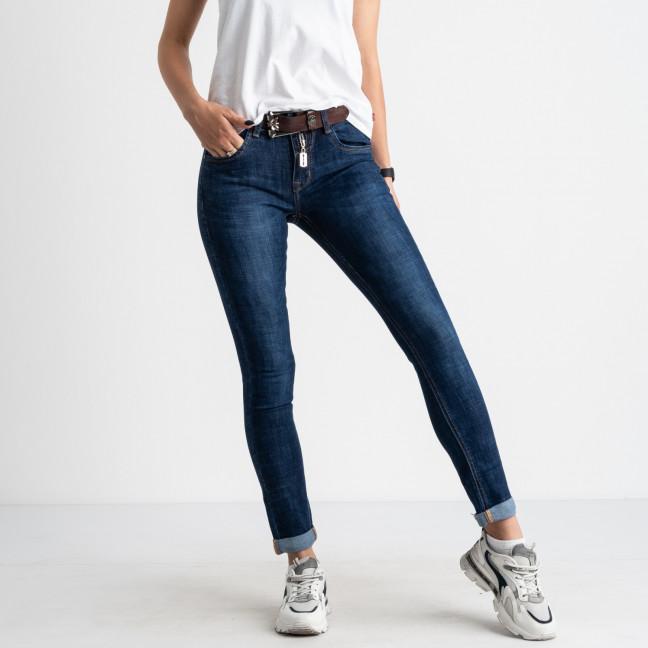 8060 OK&OK джинсы женские синие стрейчевые (6 ед. размеры: 25.26.27.28.29.30) OKOK: артикул 1123473