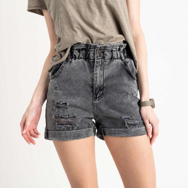 0451-1 Miss Aura шорты джинсовые серые котоновые  (9 ед. размеры: 34.36/2.38/2.40.42.44/2) Miss Aura: артикул 1122456