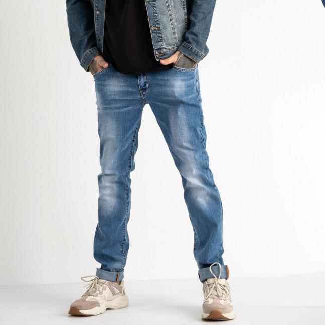 2066 Fang джинсы синие стрейчевые (8 ед. размеры: 29.30.31.32.33.34.35.36) Fang: артикул 1118355