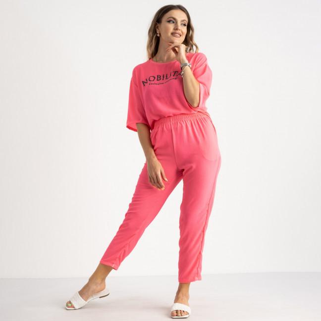 9005-2 розовый спортивный костюм женский полубатальный ( 5 ед. размеры: 46.48.50.52.54) отправка 21.06 Спортивный костюм: артикул 1122370
