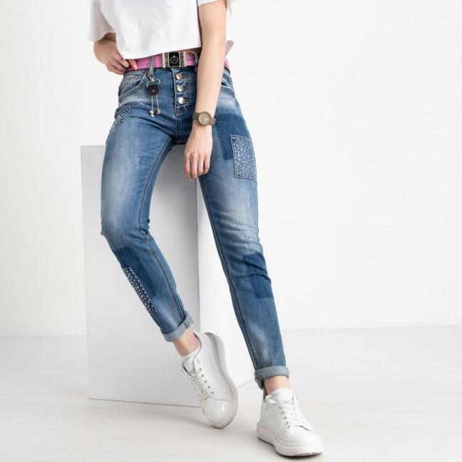 8201 Vanver джинсы женские голубые стрейчевые ( 6 ед. размеры: 25.26.27.28.29.30) Vanver: артикул 1122252