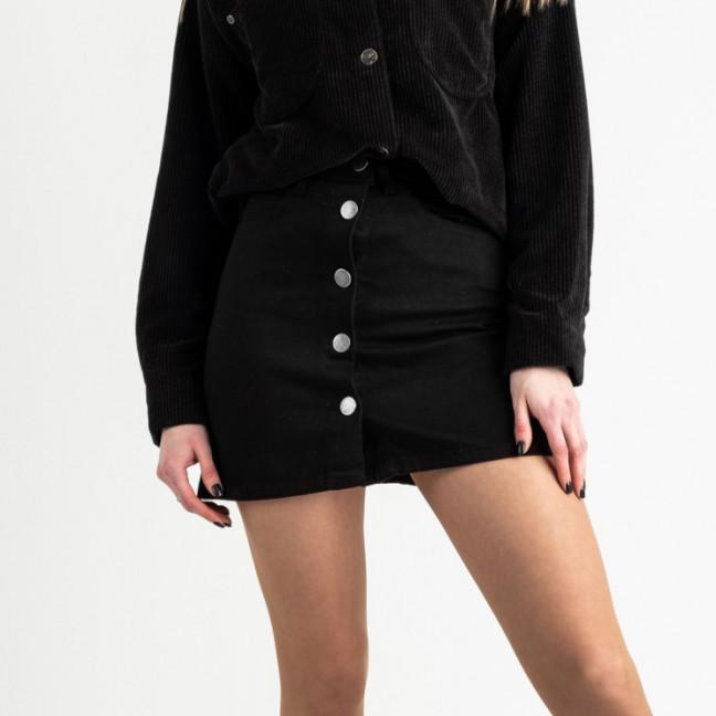 0200-12 Defile юбка джинсовая черная котоновая (6 ед. размеры: 34.36.36.38.38.40) Defile: артикул 1119954