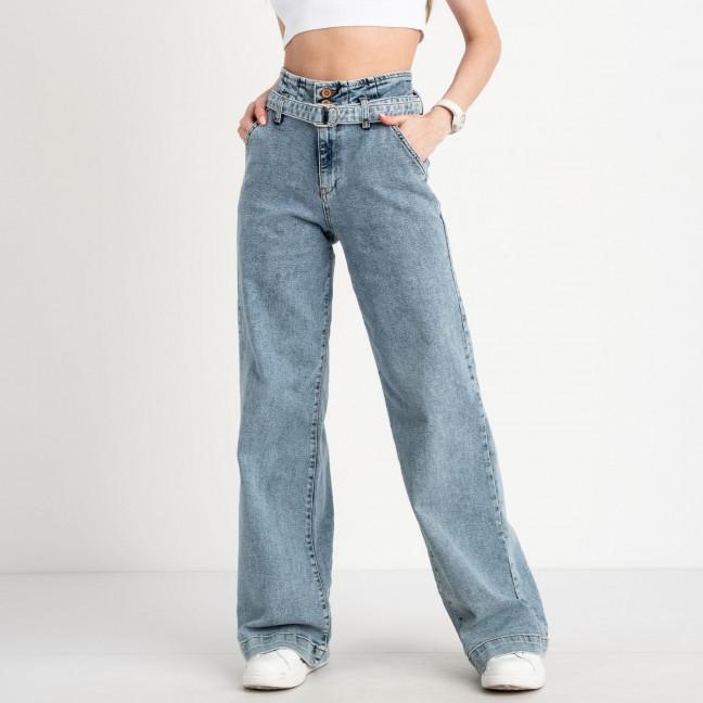 2479-781 Richone джинсы wide fit голубые стрейчевые (6 ед. размеры: 25.26/2.27.28.29) Richone: артикул 1122749