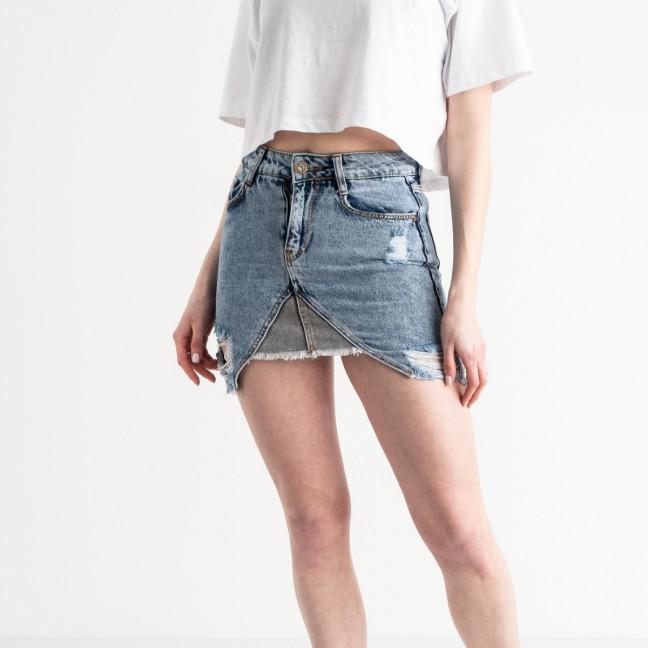 0247-755 Arox юбка джинсовая голубая котоновая (5 ед. размеры: 34.36/2.38.40) Юбка: артикул 1119964