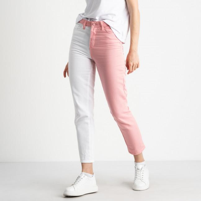 0426 Miss Aura мом двухцветный белый с розовым котоновый  (8 ед. размеры: 34.36/2.38/2.40.42.44) Miss Aura: артикул 1121699