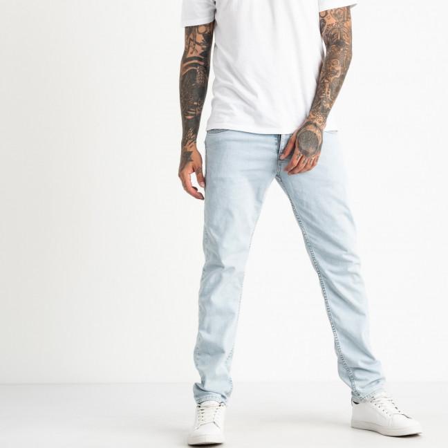 0487 Jack Kevin джинсы светло-голубые мужские стрейчевые ( 8 ед. размеры: 30.31.32.33/2.34.36.38) Jack Kevin: артикул 1121910