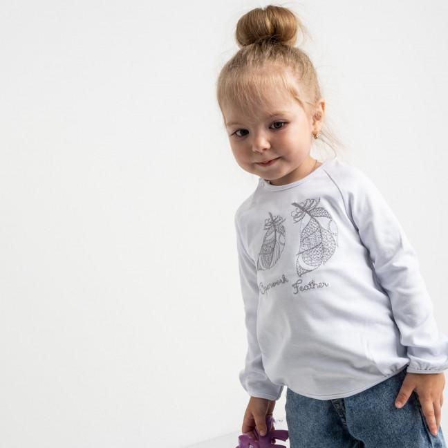 0547 гольф белый на девочку 2-4 года (3 ед. размеры: 92.98.104) Маленьке сонечко: артикул 1121532