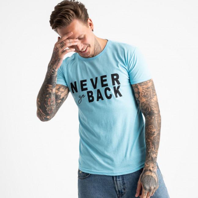 2609-13 футболка мужская с принтом (4 ед. размеры: M.L.XL.2XL) Футболка: артикул 1120951