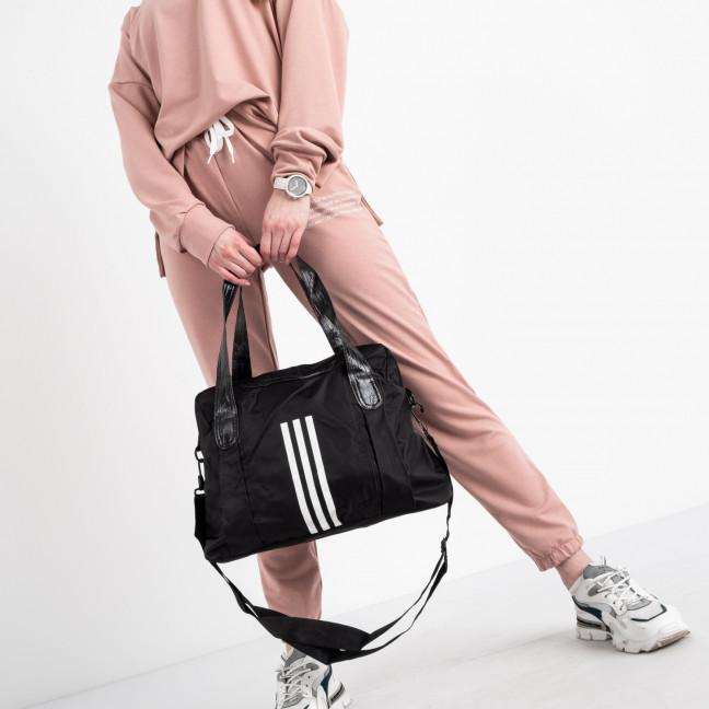 0245 черная спортивная сумка женская  (5 ед )  Сумка: артикул 1121130