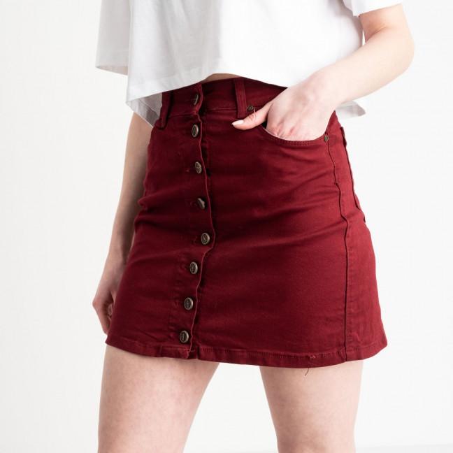 0040-831 Arox юбка бордовая на пуговицах котоновая (4 ед.размеры: 34.36.38.40) Arox: артикул 1118948
