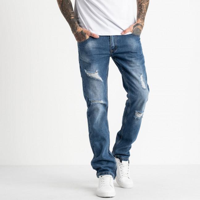 0601-1 L Likgass джинсы мужские голубые котоновые (7 ед. размеры: 29.30.31.32.33.34.36) Likgass: артикул 1118780