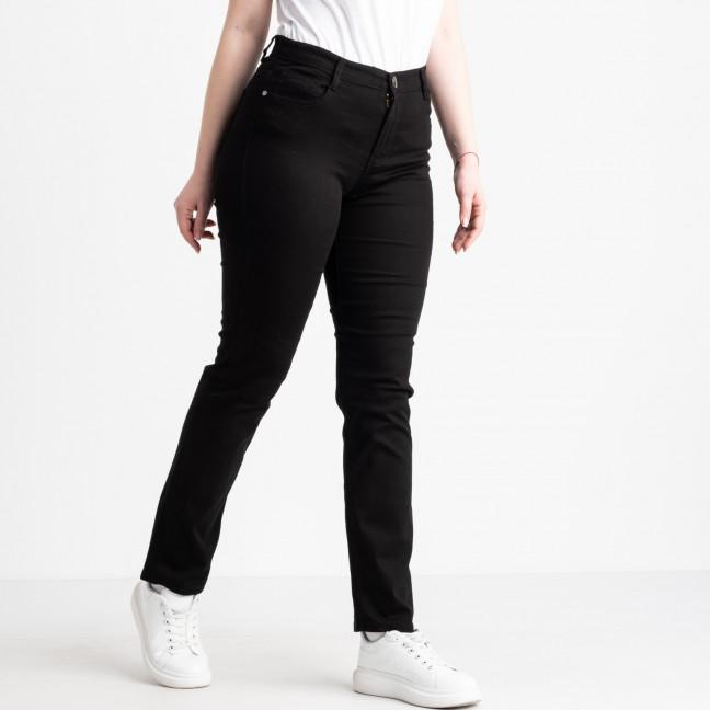 9766 Sunbird черные джинсы женские батальные  стрейчевые (6 ед. размеры: 30.32.34.36.38.40) Sunbird: артикул 1105222
