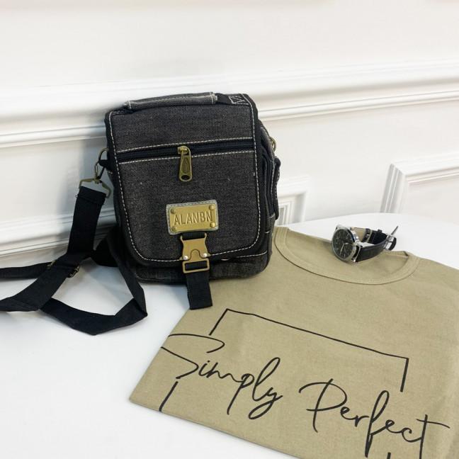 3417 сумка мужская наплечная (5 ед.) Сумка: артикул 1121280