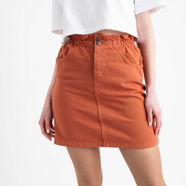 0553 Yilsan юбка оранжевая котоновая (4 ед. размеры: S.M.L.XL) Yilsan: артикул 1118950