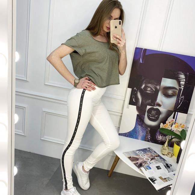 8059-11 Yimeite белые брюки женские стрейчевые (6 ед. размеры: 25/2.26.27.28.29) Yimeite: артикул 1120757