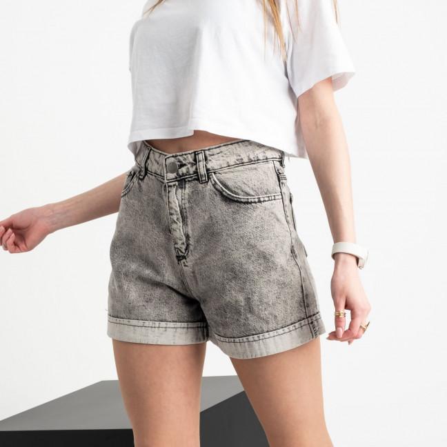 0653 Defile серые джинсовые шорты котоновые (6 ед. размеры: 34.36/2.38/2.40) Defile: артикул 1121225