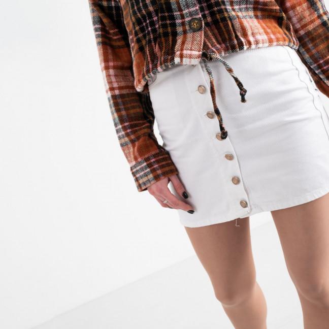 0001 Arox юбка женская белая котоновая (4 ед. размеры: 34.36.38.40) Arox: артикул 1118717