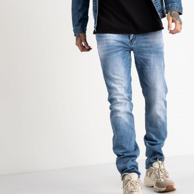 2071 Fang джинсы голубые стрейчевые (8 ед. размеры: 29.30.31.32.33.34.35.36) Fang: артикул 1118354