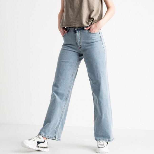 6192 Hepyek джинсы клеш женские голубые котоновые (8 ед. размеры: 26.27.27.28.28.29.30.31) YMR: артикул 1119052