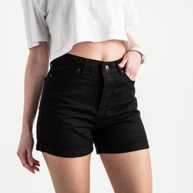 2106 MOM шорты женские черные котоновые (6 ед. размеры: 25.26/2.28.30.32) MOM: артикул 1120520