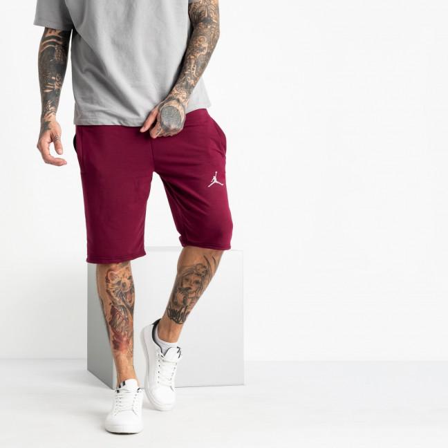 1103-3 бордо спортивные шорты мужские (5 ед. размеры: 46.48.50.52.54) Шорты: артикул 1120356