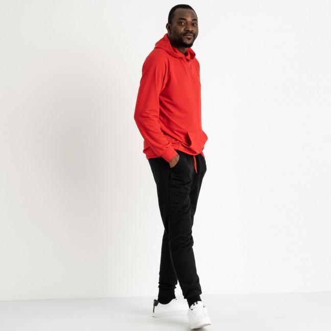 16219-3 красный спортивный костюм мужской из двунитки (4 ед. размеры: M.L.XL.2XL) Спортивный костюм: артикул 1118833