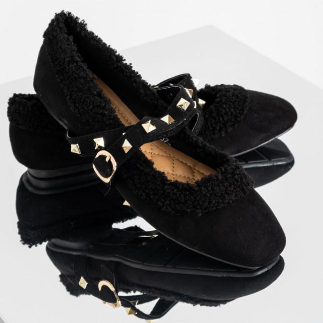 0152 Girnaive черные балетки замшевые (6 ед. размеры: 36.37.38.38.39.40) Girnaive: артикул 1119321