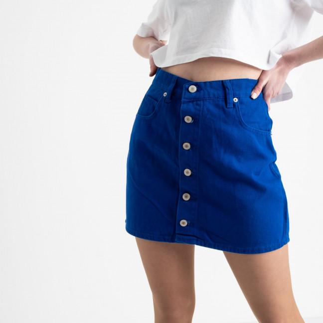 2854 XRay юбка на пуговицах синяя котоновая (6 ед. размеры: 34.34.36.36.38.40) XRAY: артикул 1118966