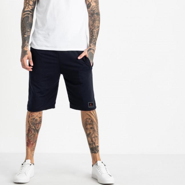 1103-2 синие спортивные шорты мужские (5 ед. размеры: 46.48.50.52.54) Шорты: артикул 1120418