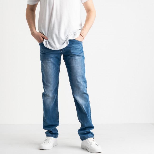 8002 Vouma-up джинсы мужские голубые стрейчевые (8 ед. размеры: 29.30.31.32.33.34.36.38) Vouma-Up: артикул 1118873