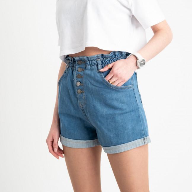 0651 Defile голубые джинсовые шорты стрейчевые (6 ед. размеры: 34.36/2.38/2.40) Defile: артикул 1121223