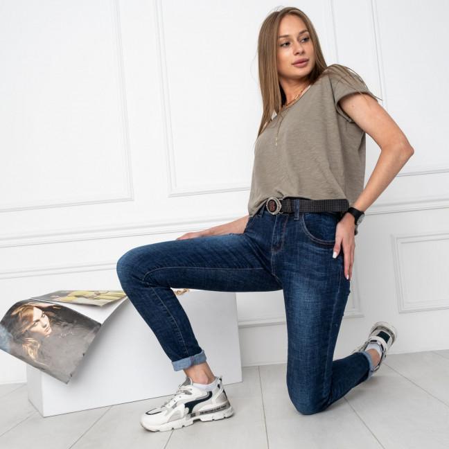 5013 OK&OK джинсы женские синие стрейчевые (6 ед. размеры: 25.26.27.28.29.30) OKOK: артикул 1123475