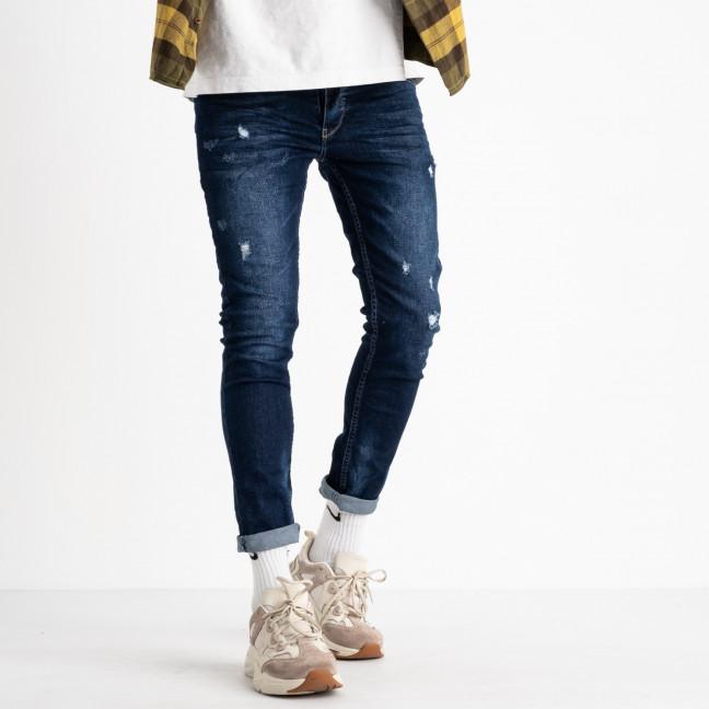 0881 джинсы мужские синие стрейчевые (8 ед. размеры: 29.30.31.32.32.33.34.36) Джинсы: артикул 1117893