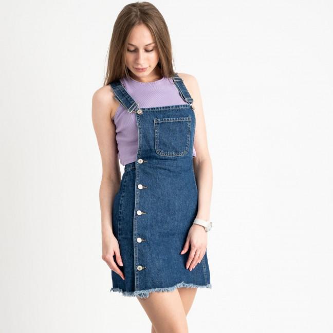 2956-1 Xray сарафан джинсовый синий котоновый( 6 ед. размеры: 34/2.36/2.38.40) XRAY: артикул 1122045