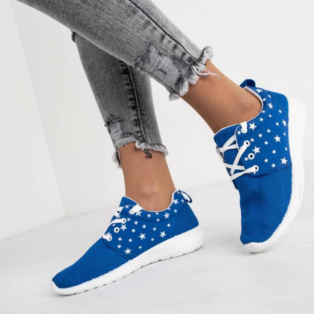 9585-1 синие женские кроссовки (8 ед. размеры: 36.37.38.38.39.39.40.41) Кроссовки: артикул 1118301