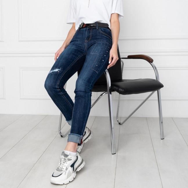 5005 OK&OK джинсы женские синие стрейчевые (6 ед. размеры: 25.26.27.28.29.30) OKOK: артикул 1123471