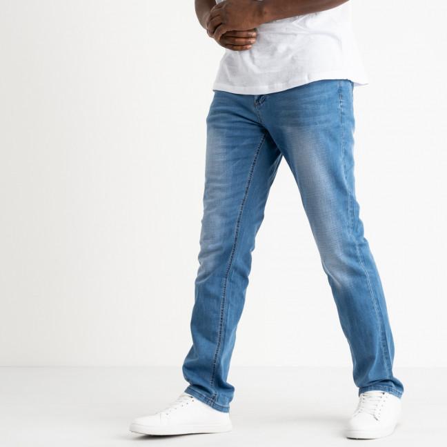 8011 Vouma-up джинсы полубатальные мужские голубые котоновые (8 ед. размеры: 32.33.33.34.34.36.36.38) Vouma-Up: артикул 1118871