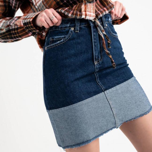 2576 XRay юбка джинсовая синяя котоновая (6 ед. размеры: 34.34.36.36.38.40) XRAY: артикул 1118545