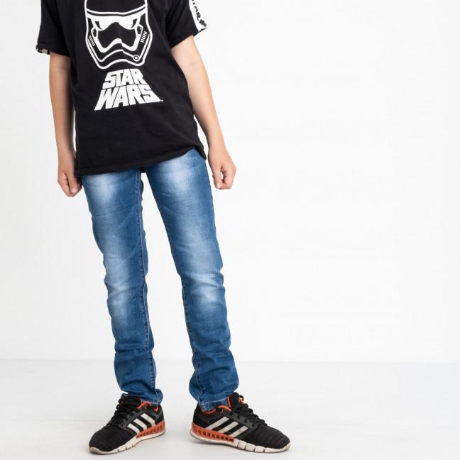 0091-1 Vingvgs джинсы юниор голубые стрейчевые (6 ед. размеры: 30.31.32.33.34.35) Vingvgs: артикул 1122316