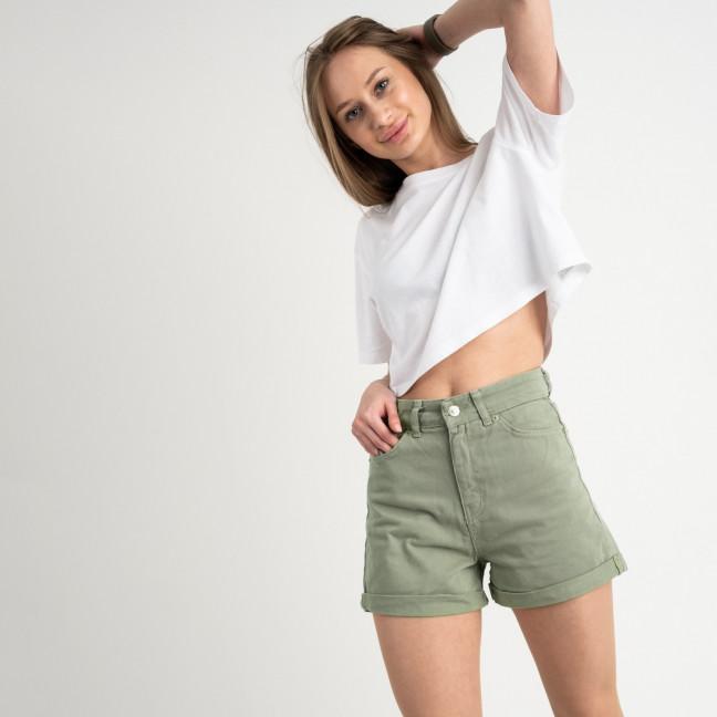 3405 шорты джинсовые оливковые котоновые ( 6 ед. размеры: 25/5.26/1) Шорты: артикул 1122201