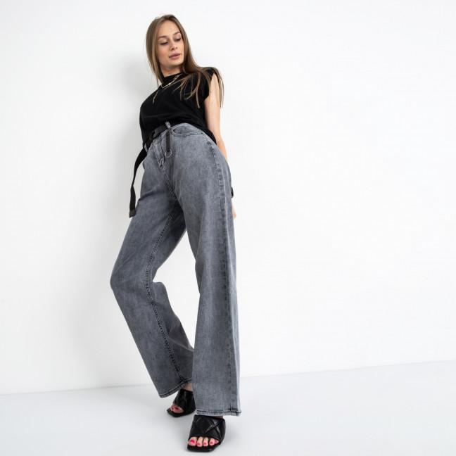 3091 KT.Moss джинсы-трубы серые стрейчевые (6 ед. размеры: 25.26.27.28.29.30) KT.Moss: артикул 1123426