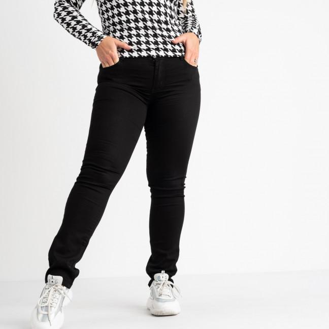 9801 Sunbird черные брюки батальные стрейчевые (6 ед. размеры: 30.32.34.36.38.40) Sunbird: артикул 1104239