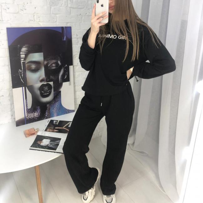 7807-1 M&C спортивный костюм женский черный (3 ед. размеры: универсал S-L ) M&C: артикул 1122646